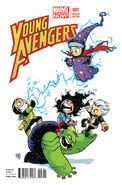 Young Avengers Vol 2 1 Baby Variant