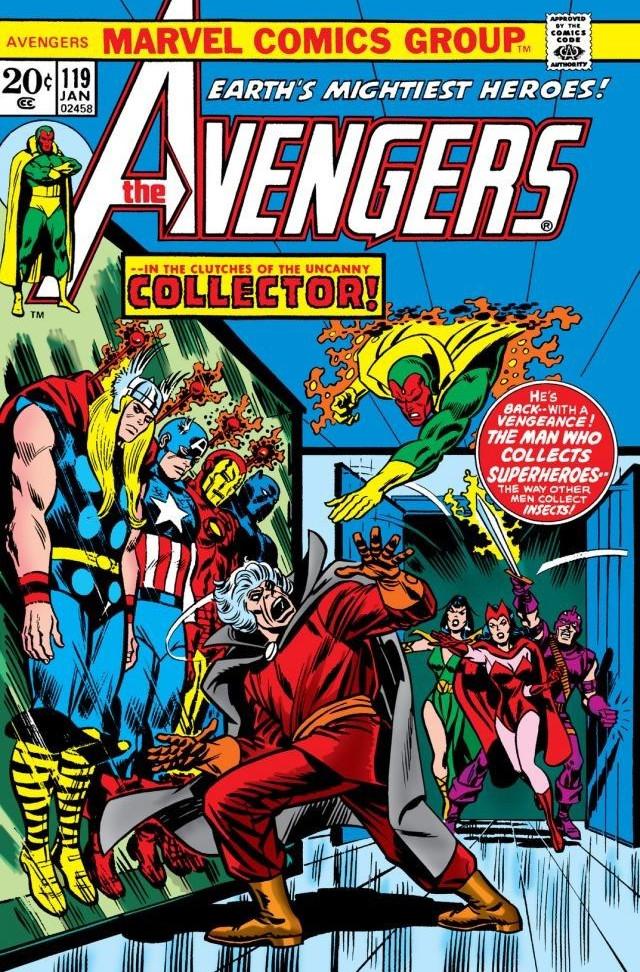 Avengers Vol 1 119 Marvel Database Fandom Powered By Wikia