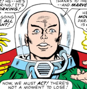 Beam Distorter and Charles Xavier (Earth-616) from X-Men Vol 1 20 0001