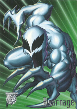 Bizarnage (Symbiote) (Earth-9602) from Amalgam Comics (Trading Cards) 0001
