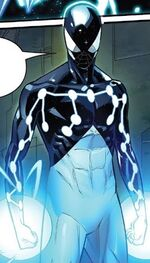 Captain Universe (Earth-616) and Miles Morales (Earth-1610) from Spider-Geddon Vol 1 5 001