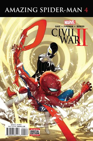 Civil War II Amazing Spider-Man Vol 1 4