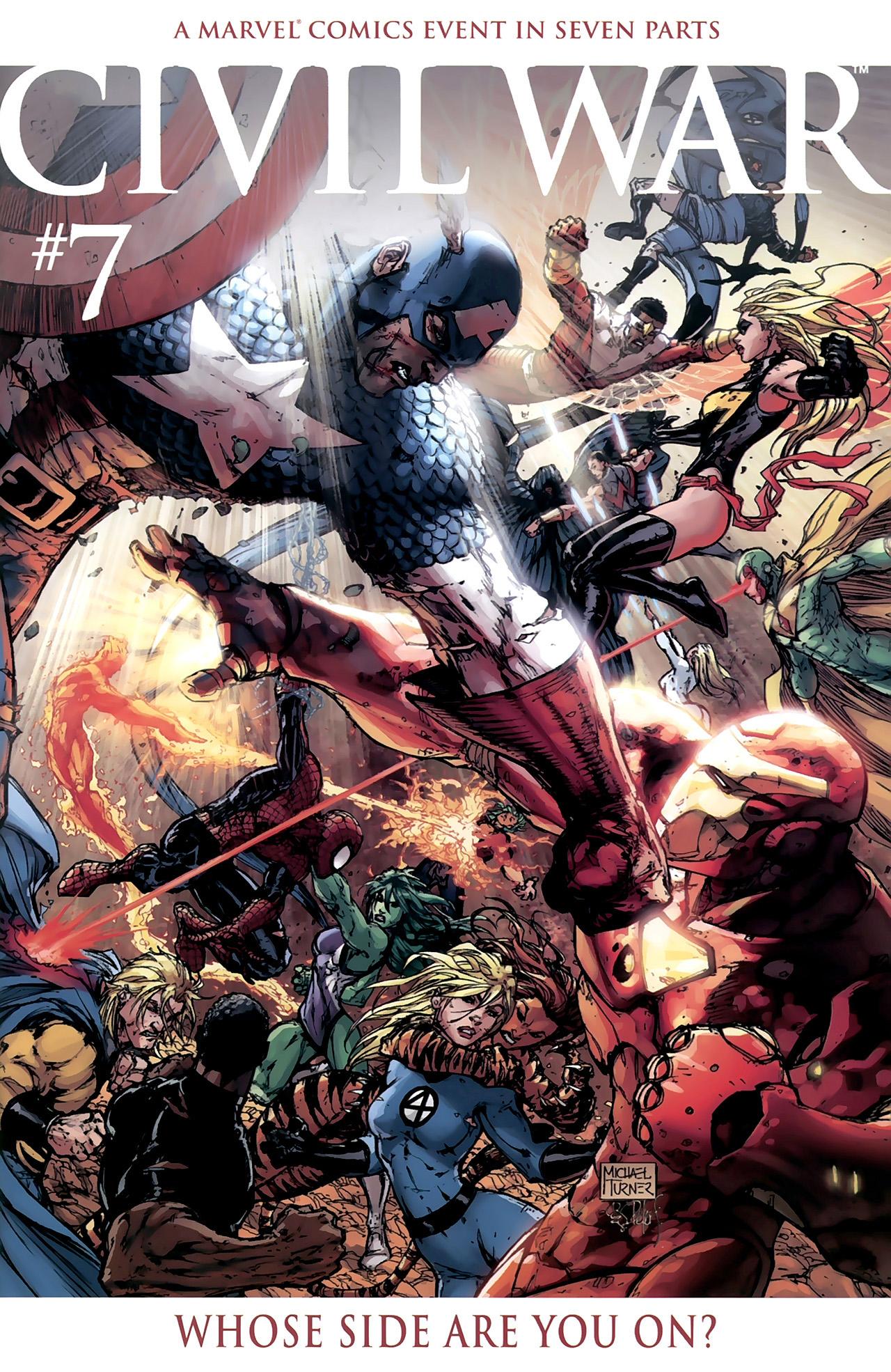 Captain America Civil War Comic Book Pdf