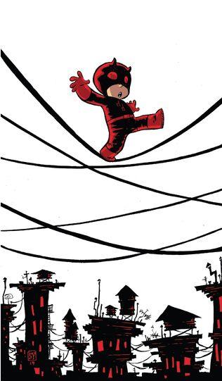 File:Daredevil Vol 4 1 Baby Variant Textless.jpg