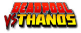 Deadpool vs Thanos (2015) logo