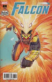 Falcon Vol 2 3 Phoenix Variant