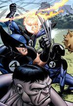 Fantastic Four (Earth-808122) from Hero Initiative Mike Wieringo Vol 1 1 0001