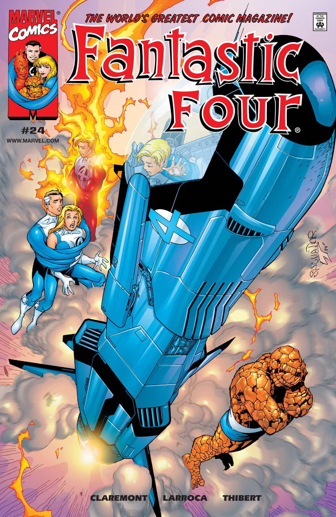 Fantastic Four Vol 3 24