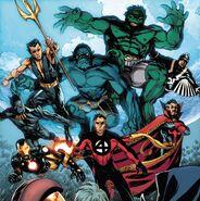 Illuminati (Earth-616) from New Avengers Vol 3 17