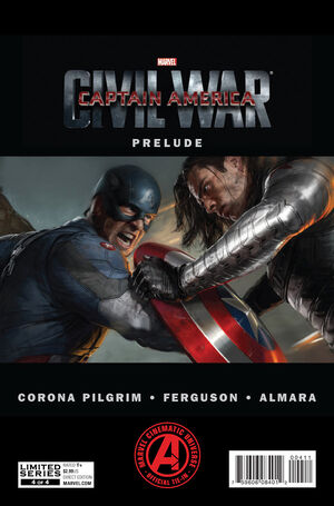 Marvel's Captain America Civil War Prelude Vol 1 4