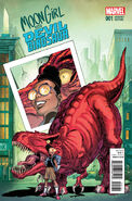Moon Girl and Devil Dinosaur Vol 1 1 von Eeden Variant