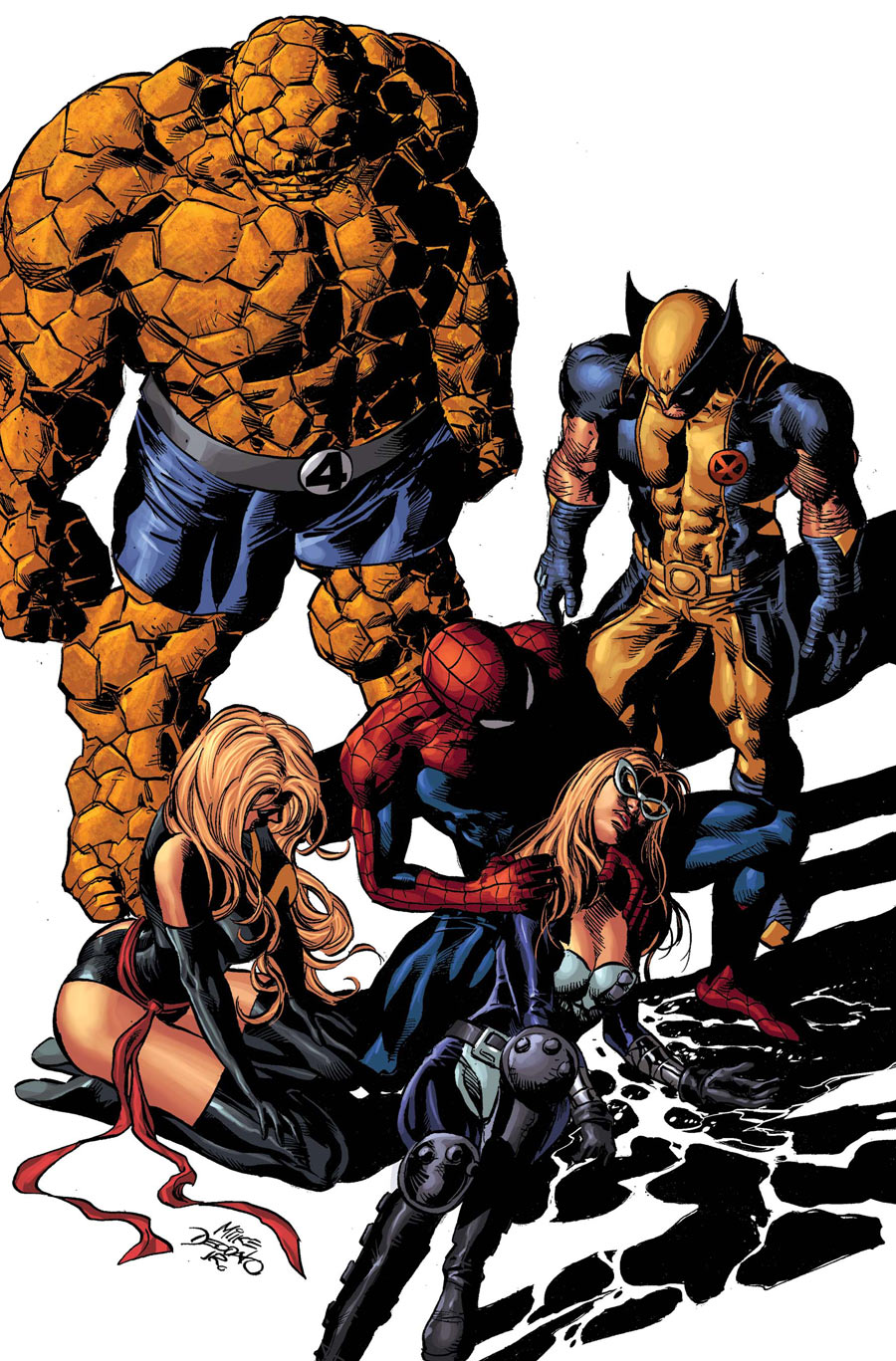 New Avengers Vol 2 13 Textless