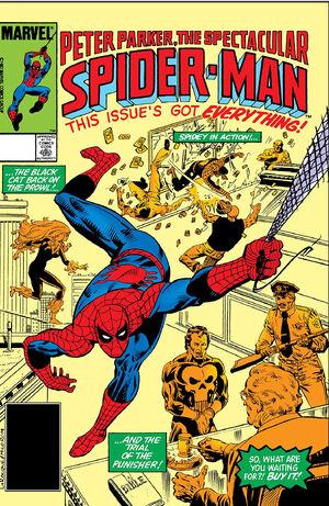 Peter Parker, The Spectacular Spider-Man Vol 1 83