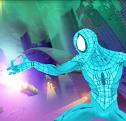 Peter Parker (Earth-TRN461) from Spider-Man Unlimited (video game) 039