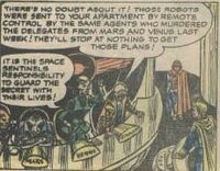 United Planets (Earth-5391) from Spaceman Vol 1 1 0001