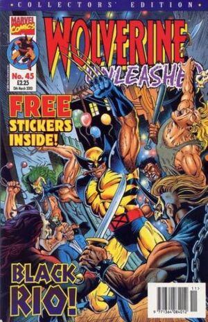 Wolverine Unleashed Vol 1 45