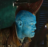 Yondu Udonta (Earth-199999) with New Yaka Arrow Controller from Guardians of the Galaxy Vol. 2 (film) 001