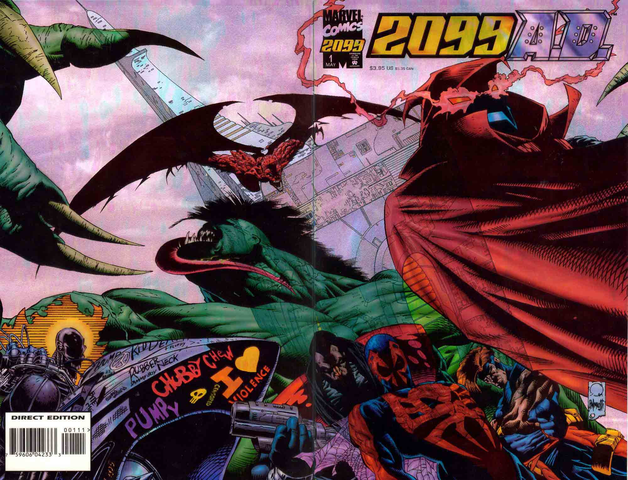 2099 a d vol 1 1 marvel database fandom powered by wikia