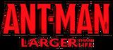 Ant-Man Larger Than Life (2015) logo