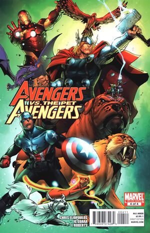 Avengers vs. Pet Avengers Vol 1 4