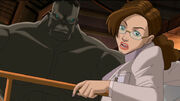 Bruce Banner (Earth-3488) and Elizabeth Ross (Earth-3488) from Ultimate Avengers The Movie 0001