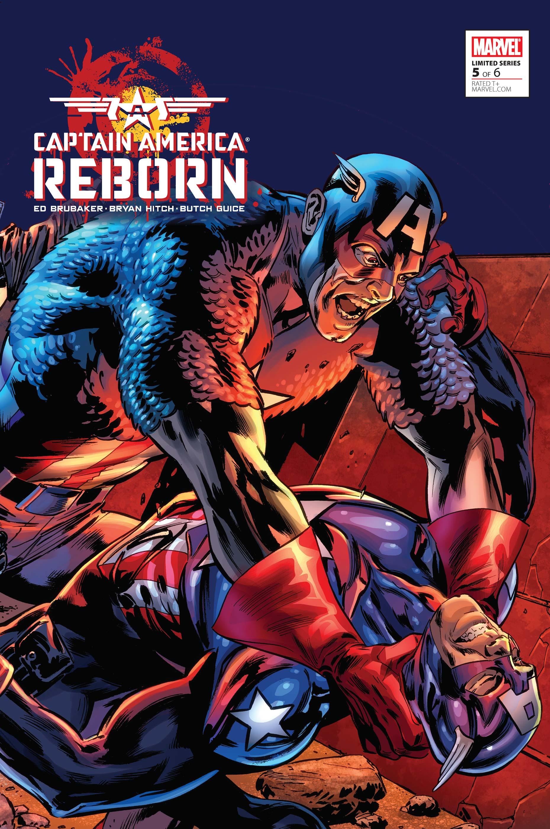 Captain America Reborn Vol 1 5