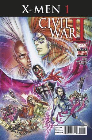 Civil War II X-Men Vol 1 1