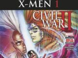 Civil War II: X-Men Vol 1 1