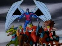 Horsemen of Apocalypse (Earth-92131) from X-Men The Animated Series Season 1 10 001