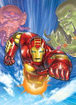 Iron Man The Animated Series DVD Cover