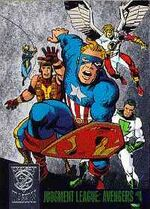 Judgment League Avengers (Earth-9602) from Amalgam Comics (Trading Cards) 0002
