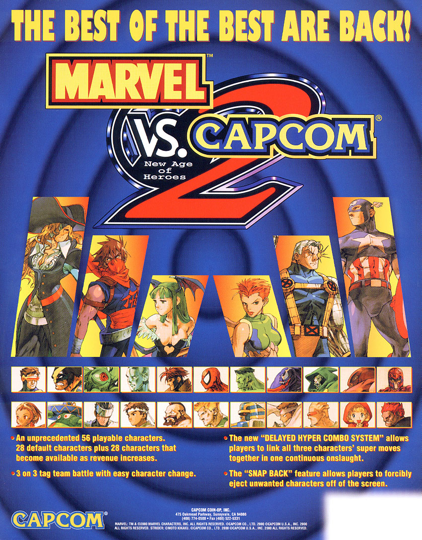 Marvel vs  Capcom 2: New Age of Heroes   Marvel Database   FANDOM