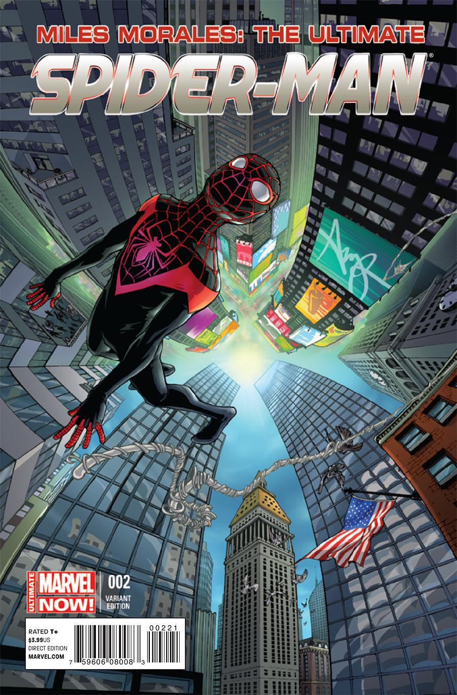 Miles Morales Spider-Man #3 Marvel Comics Movie 1:10 Variant