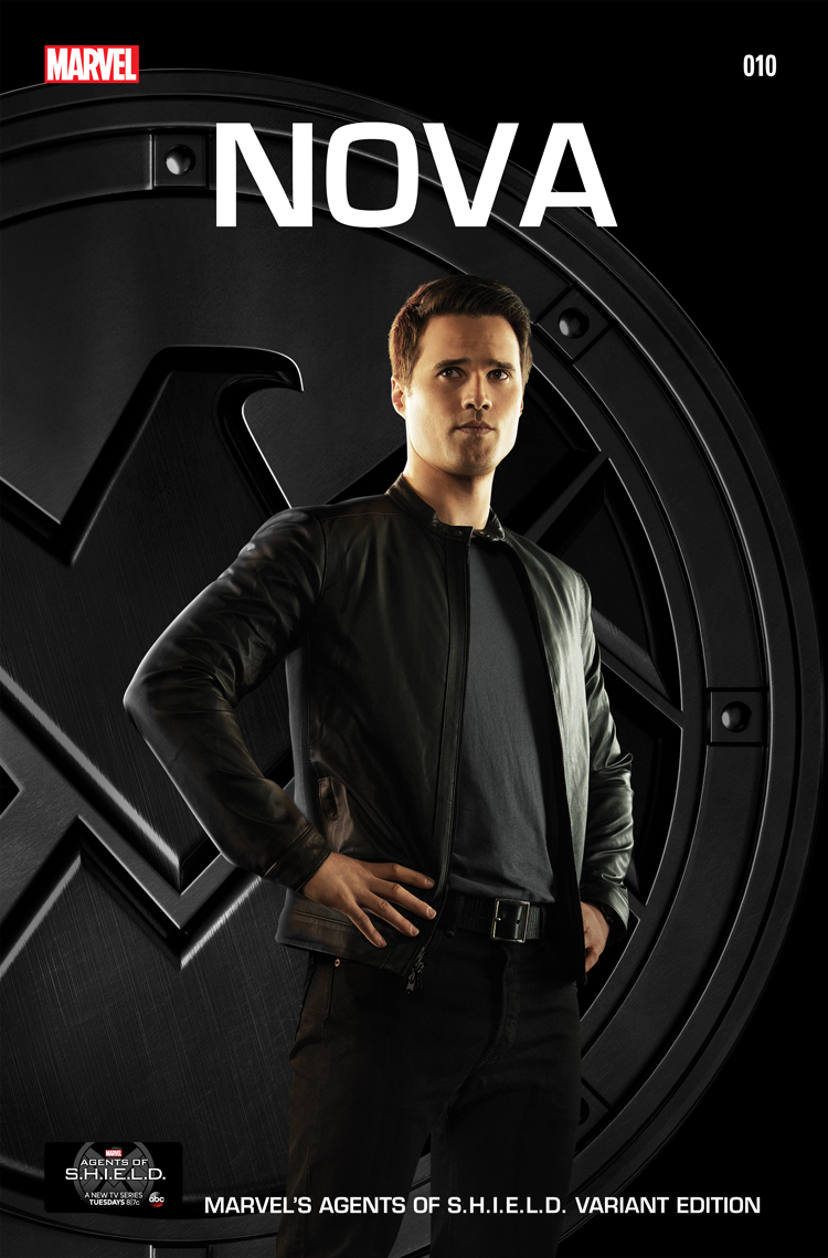 Nova Vol 5 10 Marvel's Agents of S.H.I.E.L.D. Variant Textless