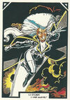 Ororo Munroe (Earth-616) from Arthur Adams Trading Card Set 0001