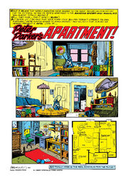 Peter Parker's apartment from Amazing Spider-Man Annual Vol 1 15