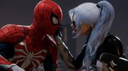 Peter Parker (Earth-1048) and Felicia Hardy (Earth-1048) from Marvel's Spider-Man (video game) 001