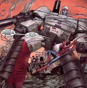 Peter Parker (Earth-7642) from New Avengers Transformers Vol 1 4 001