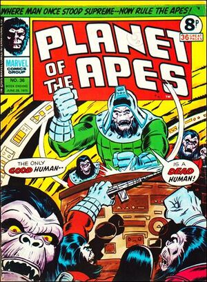 Planet of the Apes (UK) Vol 1 36