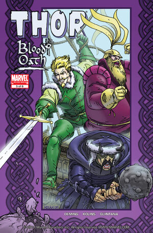 Thor Blood Oath Vol 1 5