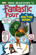 True Believers Fantastic Four vs. Doctor Doom Vol 1 1