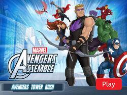Avengers Assemble Tower Rush