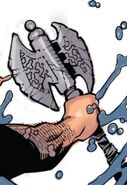Axe of Angarruumus from Doctor Strange Vol 4 3 001