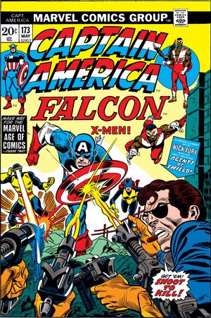 Captain America Vol 1 173