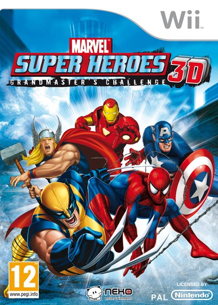 Marvel Super Heroes 3D: Grandmaster's Challenge | Marvel Database
