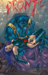 Elizabeth Braddock (Earth-616) and Henry McCoy (Earth-616) from X-Treme X-Men Vol 1 2 0001