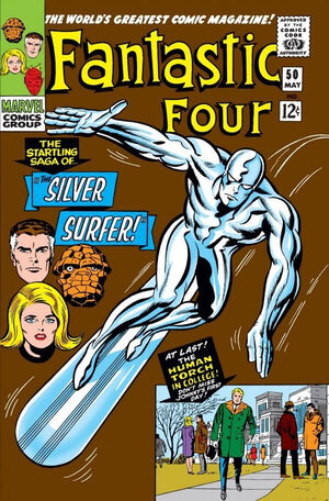 Fantastic Four Vol 1 50