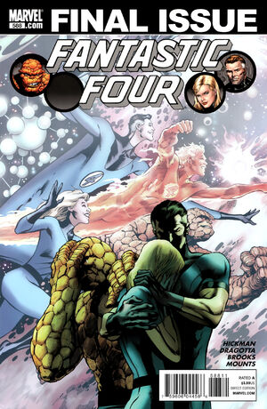 Fantastic Four Vol 1 588