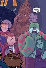 Guardians of the Galaxy (Earth-14248) from Marvel 75th Anniversary Celebration Vol 1 1