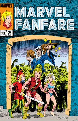 Marvel Fanfare Vol 1 25